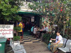 Restaurant, Yangon, Myanmar, Burma