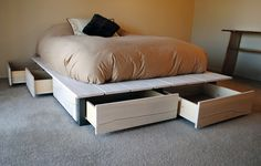 I will make a bed like this for my new apartment