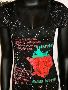DiY Across the Universe Top The Beatles Strawberry Fields You choose the size