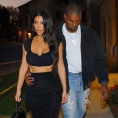 Kim Kardashian and Kanye West Do Date Night Twinning