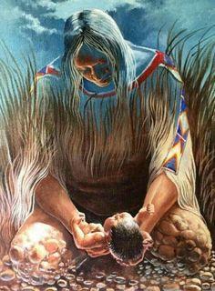 Nosso  Feminino Sagrado:      Sou sua cria Nasci de tuas entranhas Sou rio ...