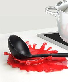 Another great find on #zulily! Splash Spoon Rest by Mustard #zulilyfinds