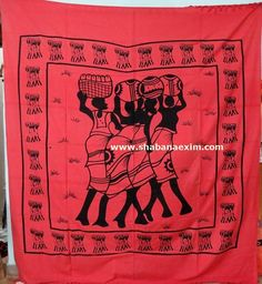 Three Woman African Tapestry No Description Product Id:: 3048 Size:: 150X220cm, 210X240 cm, Material:: 100% Cotton Design:: Printed Colors:: Any Custom Color