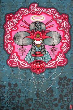 Art Nectar | Short Video Documentary: Street Artists Supa Kitch and Koralie for Posca | http://artnectar.com