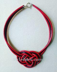 """124aad26a670 Variedades Jasny on Instagram  """" collar  cuero  negro  rojo  nudojosephine   moda  belleza  accesorios. Envíos a toda Colombia."""