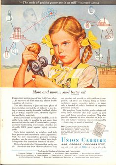 1949 Union Carbide Advertisement National Geographic January 1949   by SenseiAlan