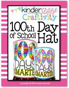 cute hat for the 100th day of school