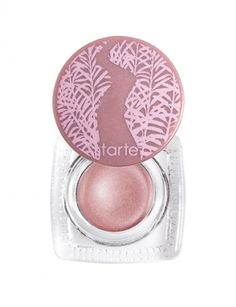 I like to keep my makeup light for the summer! #COLORsOFSUMMER tarte Amazonian clay waterproof cream eyeshadow in seashell