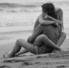 Imagen de love, couple, and hug