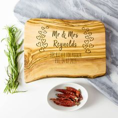 Need a last minute wedding or anniversary gift? Then take a look at our newest design with next day delivery if your order express delivery before 11am!   This beautifully engraved and unique artisan board is the perfect memorable keepsake gift for engagements, weddings and anniversaries. It makes the perfect chopping/cheese/serving board or makes a wonderful display!  This can be personalized with the couple's name, a quote or the location and the date of the occasion.