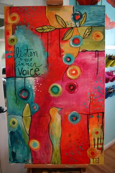 "Donna Downey's ""Listen to Your Inner Voice"" - love this!"