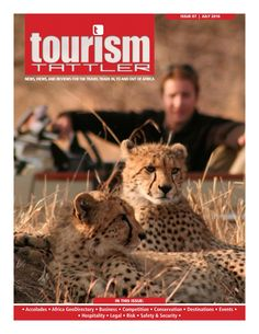 The July edition front cover features a pair of cheetah at Tintswalo Safari Lodge in the Manyeleti Game Reserve in Mpumalanga, South Africa (see page Classified as vulnerable by the International Union for Conservation of Nature (IUCN), the che. Out Of Africa, Game Reserve, Safety And Security, Vulnerability, Conservation, Safari, Competition, Tourism, Reading