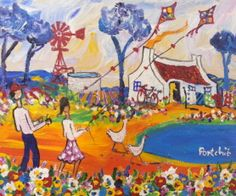 Postmodern Art, African Paintings, South African Artists, My Land, Postmodernism, Beautiful Paintings, Lovers Art, Charity, Contemporary Art