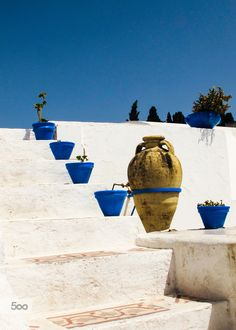 Tunisian blue I. by Otto Glavo on 500px
