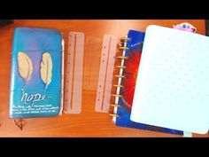 USE THE SAME INSERT IN DORI, RING & DISC PLANNERS! EASY DIY ADAPTER! - YouTube