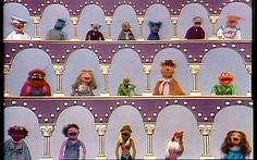 Muppet Show var ofte å se på TV på 70 og 80-tallet. Husker du dem ?