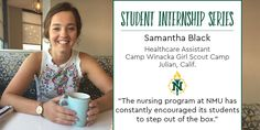 View our summer 2017 Student Internship Series here: northernstories.tumblr.com. Girl Scout Camping, Student Jobs, Summer Jobs, Nursing Programs, Northern Michigan, Girl Scouts, Health Care, Encouragement, University