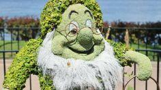 Doc topiary, germany, 2014 epcot international flower and garden festival, epcot, walt disney world