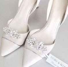 Shoe Clips  Bridal Shoe Clips Wedding Shoe Clips Wedding