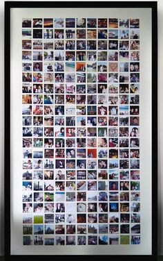 #DIY #Instagram Photo Frame - Stephanie White and Alex Svetlovsky #art
