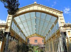 Umbracle. Architect: Josep Amargós i Samaranc. Barcelona - Pg. Picasso