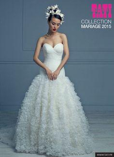 robe de marie nouvelle collection tati mariage 2015 en voir plus ici http - Tati Mariage Marseille