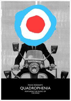 Poster for the 1979 film Quadrophenia