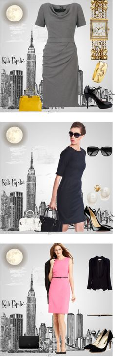 """""""Career and Business Woman Outfit"""" ❤ curated by Marilyn @Polyvore"""