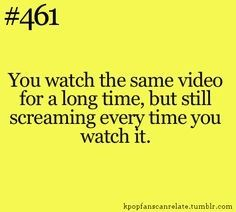 All Kpop fans can relate! About loops MVs and how awesome they are all the time