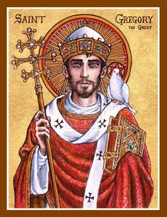 St. Gregory the Great icon by Theophilia.deviantart.com on @deviantART