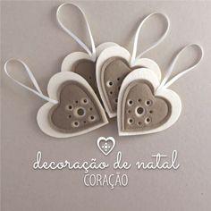 DECORAÇÃO DE NATAL · CORAÇÃO · marieladias.blogspot.pt