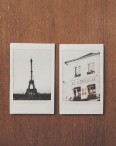 Travel picks in honor of Etsy's 10th anniversary! Instant film photo set >> Paris.
