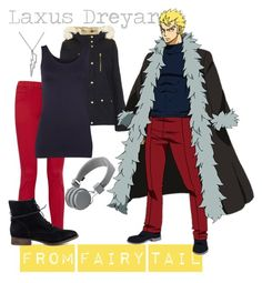 """""""[Fairy Tail] Laxus Dreyar"""" by kristent981 ❤ liked on Polyvore featuring Juicy Couture, Topshop, rag & bone/JEAN, Witchery, Steve Madden and Urbanears"""