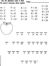 Freebie! This is bite size phonics cryptogram puzzle. In