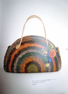 1000+ images about BAGS ROUND on Pinterest Crochet Bags ...