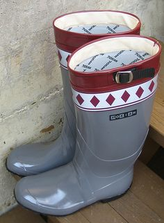 Nokia (-n) rubber boots - a gallery on Flickr