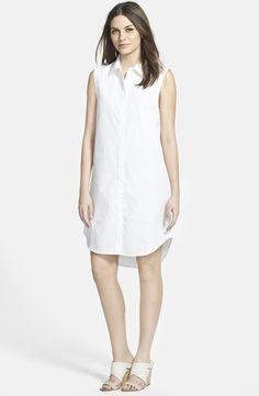 Classic Collar Shirtdress (Online Only)