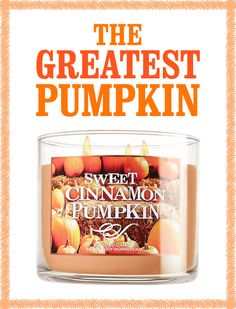 #welovefall // ME TOO! This is one of my family's favs!! -- and it comes in designer WHITE if you want to use it outside of the fall season. =)