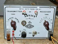 """This rig, apparently sold by Western Radio of Kearney, NE is a one- or two-tube """"Novice transmitter/receiver."""" It originally sold in kit form for $14.95, assembled and test $19.95."""