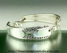Silver Spoon Bracelet TALISMAN Jewelry Vintage Silverware