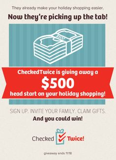 Win $500 and manhandle the holidays LIKE A BOSS. #giveaways #Christmas #holidays