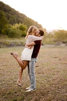 Such a romantic proposal story, and their engagement photos are gorgeous.