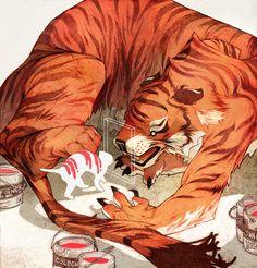 Juxtapoz Magazine - Sachin Tengs Incredible Imagination