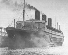 1949 image ship ile de france - Google Search Major Oceans, His Travel, Southampton, World War I, Art Deco Fashion, Boats, Cruise, Ship, French