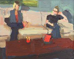 Jennifer Pochinski, Xmas 2013, 2015.  oil on canvas,16 × 20 inches