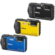 Nikon COOLPIX AW130 16MP 1080p HD Waterproof Digital Camera - Choose Your Color in Cameras & Photo, Digital Cameras | eBay