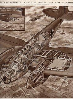 Aircraft x section--heinkel