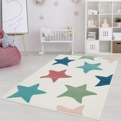 Inspiration Cream/Blue/Pink Rug Carpet City Rug size: Rectangle 200 x Kids Area Rugs, 8x10 Area Rugs, Blue Area Rugs, Modern Princess, Room Carpet, Rugs On Carpet, Carpets, Joop Living, City Rugs