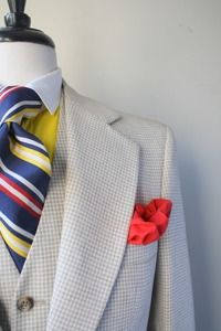Primary colors for the men #PerfectWedding