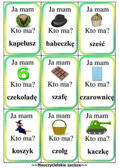Infant Activities, Activities For Kids, Preschool Crafts, Crafts For Kids, Learn Polish, Polish Words, Polish Language, Kids Education, Literacy